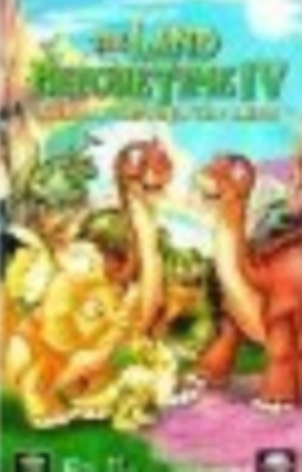 The Land Before Time Iv: Journey Throught the Mists Vhs