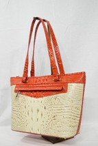 NWT Brahmin Medium Asher Leather Tote/Shoulder Bag in Vanilla Toucan - $269.00