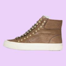 DIESEL S-Mustave MC Womens Fashion High Top Leather Sneaker Mushroom Siz... - $79.79