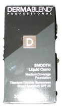 Dermablend Smooth Liquid Camo Medium Coverage Foundation Cocoa 60N 1fl o... - $18.76