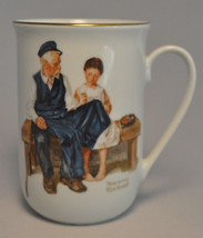 1982 Norman Rockwell Museum Collectible Mug Cup: The Lighthouse Keepers ... - $6.97