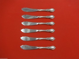 """Charlemagne by Towle Sterling Silver Trout Knife Set 6pc. HHWS  Custom 7 1/2"""" - $429.00"""