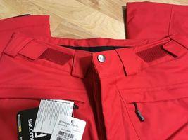 Salomon Response Ski Snowboard Pants Unisex, Size XS or S, Red, NEW image 3