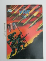 The War Comic Book Book Two Marvel Comics 1989 - $31.50