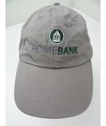 Home Bank Adjustable Adult Ball Cap Hat - £10.09 GBP