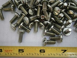 Machine Screws 10-32 x 1/2 Slotted Binding Head Steel Zinc Plated LOT of... - $20.20