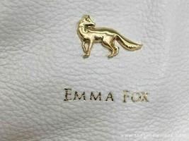 Emma Fox White Leather Shoulder Bag - $64.35