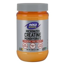 Creatine Monohydrate, Micronized, 1.1 Lbs by Now Foods - $12.32