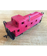 "BACHMANN HO GAUGE RAILROAD RED CABOOSE - ""128"" - $5.50"