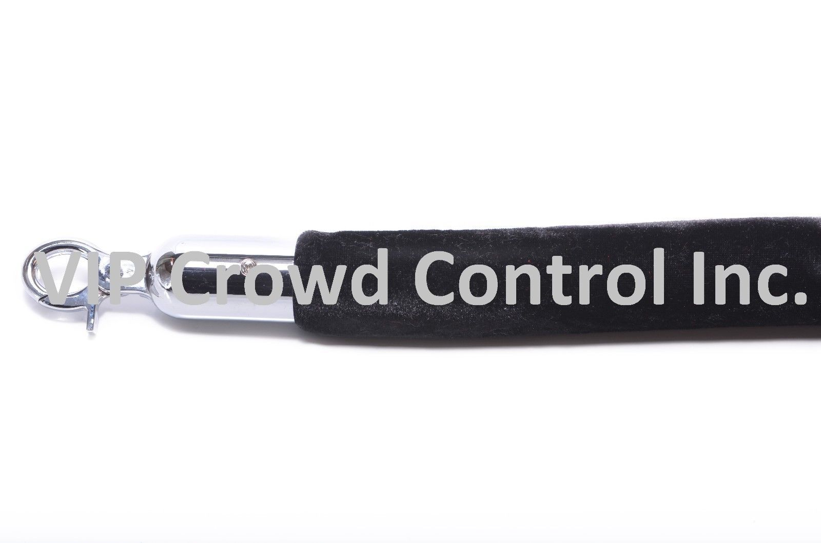 """Stanchion Velour Rope with 1.50"""" Diameter, VIP Crowd Control"""