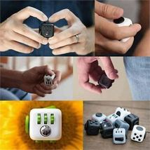 Magic Fidget Cube Anxiety Stress Relief - One Item w/Random Color and Design image 3