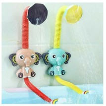 Bath Toys Baby Water Game Elephant Model Faucet Shower Electric Water Sp... - $59.99