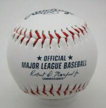 RICKEY HENDERSON / MLB HALL OF FAME / AUTOGRAPHED A'S LOGO OML BASEBALL / COA image 3