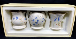 Classic Lenox Set of 3 Floral Votive Candle Holders New in Box  - $34.99