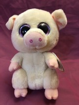 """TY BEANIE BOOS - PIGGLEY the 6"""" PIG - MINT with MINT TAGS - $10.00"""