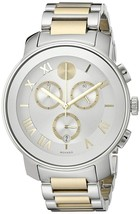 Movado Unisex 3600280 Bold Chronograph Two-Tone Stainless Steel Watch - $551.74