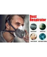 Face Mask Anti Dust Paint Respirator Breath KN95 Electrostatic Filter Co... - $59.99