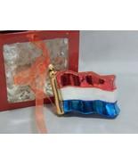 Impuls Glass US Flag Ornament - $10.89