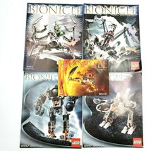 Lego Bionicle Instruction Manual Lot 8572 8557 8622 8621 - $9.88