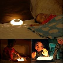 AMO Lamp For Baby Feeding Sleep Nursery & MultiUse One Touch Rechargable Comfort image 8