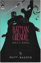 Batman Grendel Devil's Riddle Comic Graphic Novel Trade #1 DC 1993 NEW UNREAD - £5.44 GBP