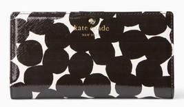 Kate Spade Slim Wallet Card Coin CEDAR STREET BLOT DOT STACY Leather ~NW... - $75.00