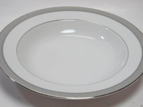 Primary image for 8 MIKASA PLATINUM CROWN L3428 RIMMED SOUP BOWLS Set of 6