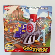 Fisher-Price GeoTrax Video 4 Episodes DVD 2009 New Team Transportation System - $9.99
