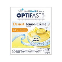 Optifast VLCD Lemon Creme Dessert - 8 Pack - $75.51