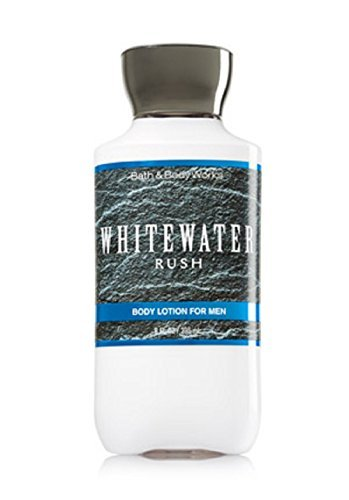Bath & Body Works Whitewater Rush Body Lotion for Men 8 oz / 236 ml