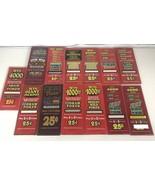 "Vintage Vegas Poker Slot Machine Art Glass 25 Cent Pick 10.5""X4.25"" RARE... - $19.89"