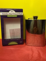Epic Stainless Steel Mirror Finish Travel Flask Collectible Gift - $11.30