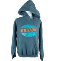 Vintage Brand Boston Mass. Gray Hoodie Juniors Size S - $19.79