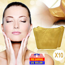 5x Gold Crystal and 5x Pilaten Anti-wrinkle and Whitening Collagen Neck ... - $43.20