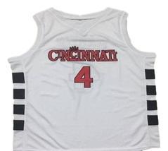 Kenyon Martin #4 Cincinnati Custom Basketball Jersey Sewn White  Any Size image 4