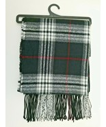 Goodfellow & Co Plaid Woven Scarf Black One Size Mens Shawl - $15.99