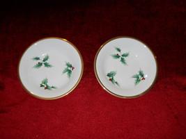 Mikasa Holly Ribbon set of 2 fruit bowls - $19.75