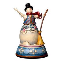 Enesco Jim Shore Heartwood Creek Musical Snowman Figurine, 8-Inch Hand painted - $49.95