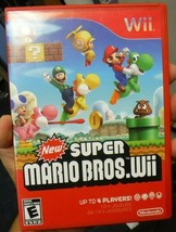 New Super Mario Bros. Wii (Nintendo Wii, 2009) - $14.84