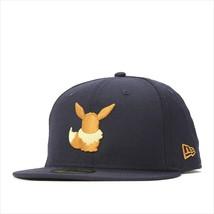 New Era Pokemon collaboration cap 59FIFTY SILHOUETTE EIEVUI navy - $95.99