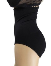 NEW WOMEN'S ROSA BUTT SHAPER BOOSTER TUMMY CONTROL PANTY BLACK ONE SIZE PL840 image 2
