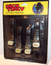 Disney DICK TRACY Vintage 1990s  Flicker Watches NIP imperial NEW Packag... - $14.99