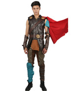 Thor Ragnarok Deluxe PU Suit Halloween Cosplay Costume Science Fiction ... - $259.00