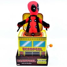 Entertainment Earth SDCC 2019 Exclusive Deadpool Retro Style Jack-in-the-Box image 1