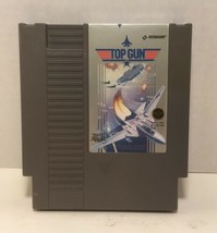 VTG Top Gun 3 Screw Variant Nintendo NES Video Game Cartridge Konami 198... - $11.90