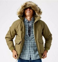 Timberland Men's Boundary Peak Waterproof Olive Green Bomber Jacket A1CO... - $118.80