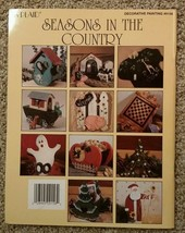 Seasons in the Country by Faith Rollins Santas Birdhouses Tole Painting ... - $7.98