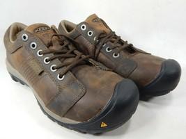Keen La Conner ESD Sz 9 2E WIDE EU 42 Men's WP Aluminum Toe Work Shoes 1017824EE - $57.77