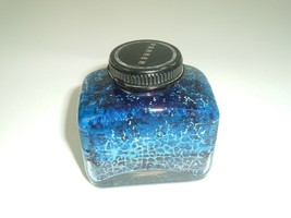 Parker Ink 3 Oz Bottle Vintage Office Display Blue - $12.86