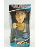 Spock Star Trek Wacky Wobbler Talking Bobblehead by FUNKO NIB Chase Piece - $98.99